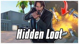 How To Find JOHN WICKS Hidden Loot In Fortnite! | Fortnite John Wick Secret Chests #ObeyFRC #SoarRC