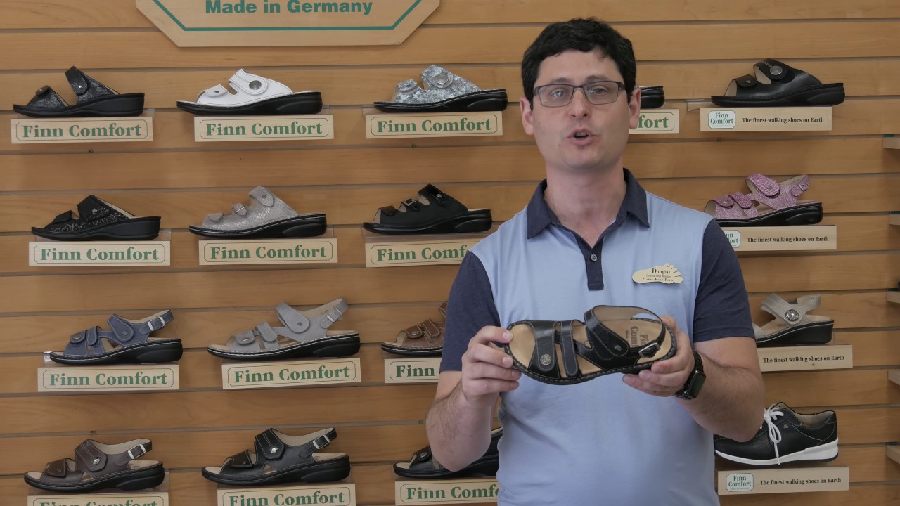 9ffa4ee982 Finn Comfort Styles of Sandals and Shoes - YouTube