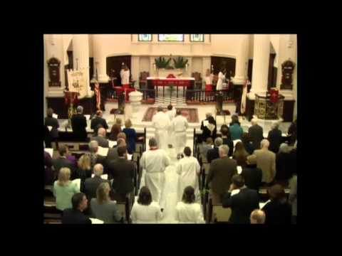 Palm Sunday, 10:30 a.m. March 20, 2016 at St. James's in Richmond, VA