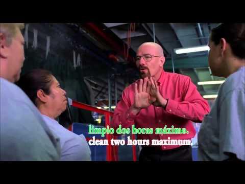 Breaking Bad: Walter Speaks Spanish Translated