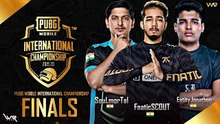 PUBG MOBILE INTERNATIONAL CHAMPIONSHIP | FINALS | ft SOUL, FNATIC, ENTITY, BTR | JANKYROR GAMING