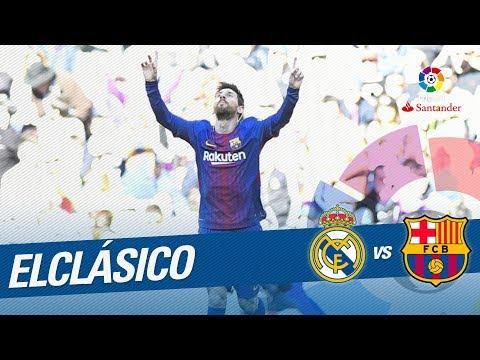 ElClásico - Gol de Messi (0-2) Real Madrid vs FC Barcelona