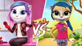 Моя говорящая Анджела vs говорящая Эмма # Кто лучше?