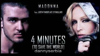 Madonna feat. Justin Timberlake & Timbaland - 4 Minutes [HQ]