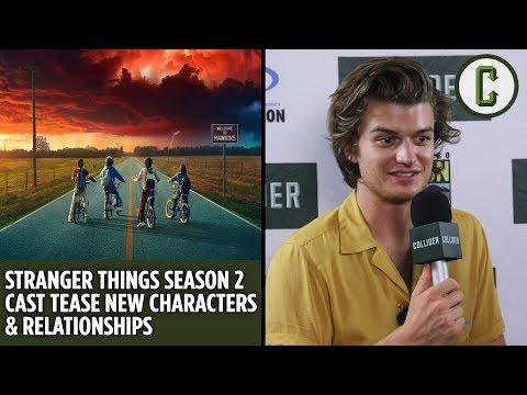 Stranger Things Season 2 Cast Tease New Characters & Relationships - Collider Video