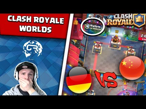 CLASH ROYALE WORLDS | GERMANY VS. CHINA | DEUTSCHLAND DOMINIERT! | DEUTSCH
