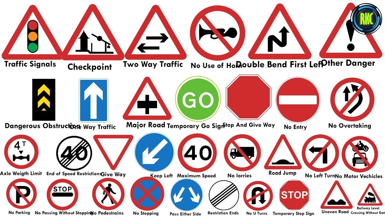 Road Signs In Nepal Traffic Symbols À¤Ÿ À¤° À¤« À¤• À¤š À¤¨ À¤¹à¤¹à¤° Youtube