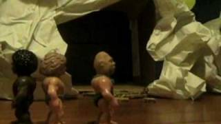 caveman dance