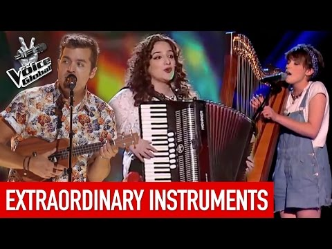 The Voice | EXTRAORDINARY INSTRUMENTS in The Blind Auditions