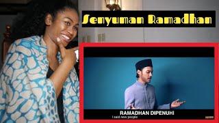 Cover images Hael Husaini - Senyuman Ramadhan [Official Music Video] | Reaction