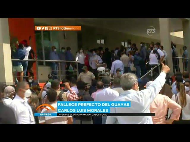 Comienza el traslado de los restos del Prefecto del Guayas - RTS Noticias De La Mañana