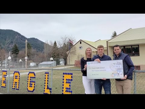 Grant to help student athletes at Trout Creek School