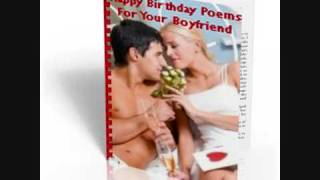 happy birthday poems for your boyfriend