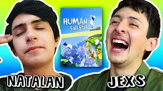 Natalan y Jexs en Human Fall Flat (Termina mal xD)