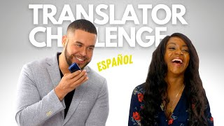 Using Only Instant Translator to Communicate I Date Challenge