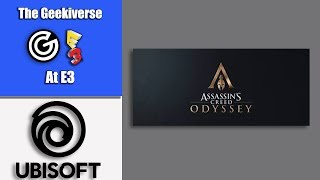 Assassins Creed Odyssey | Ubisoft Press Conference | E3 2018
