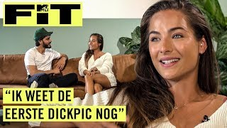NOCHTLI over ongewenste snaps van PROFVOETBALLERS, haar TV-droom en nieuwe app | MTV Fit Sit Down