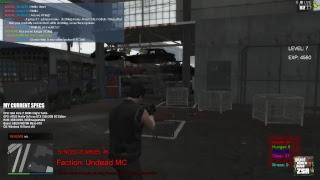 FiveM Zombie Survival Roleplay Development - Let's start blacklisting some skins!