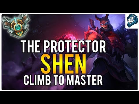 SHEN THE PROTECTOR - Climb to Masters | League of Legends