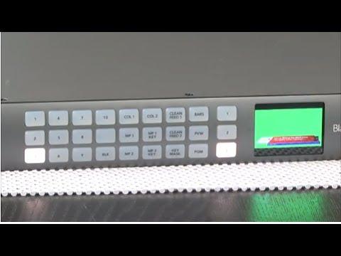 StudioTech 111 - Blackmagic ATEM 4K switchers: Part 3 of 3 ATEM 1 M/E  Production Studio 4K