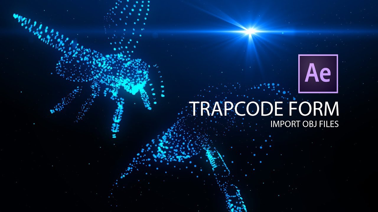 Trapcode Form Obj Tutorial Youtube