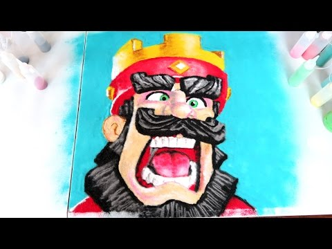 INSANE CLASH ROYALE SAND ART TIMELAPSE