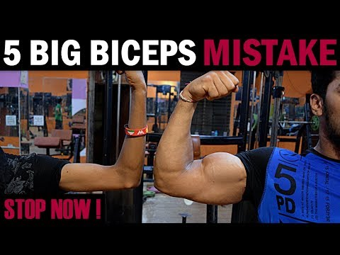 How to Grow BIGGER BICEPS