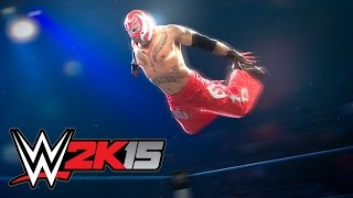 I Hate You Rey Rey!!! Father Vs. Son [Main Event] WWE 2K15 Gameplay, Commentary