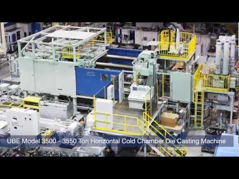 Honda - UBE Die Casting Machine - YouTube