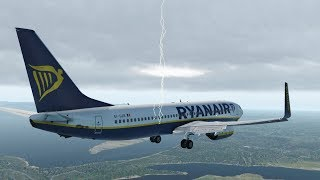 pilot-is-very-scared-during-a-severe-storm-and-makes-an-emergency-landing-x-plane-11