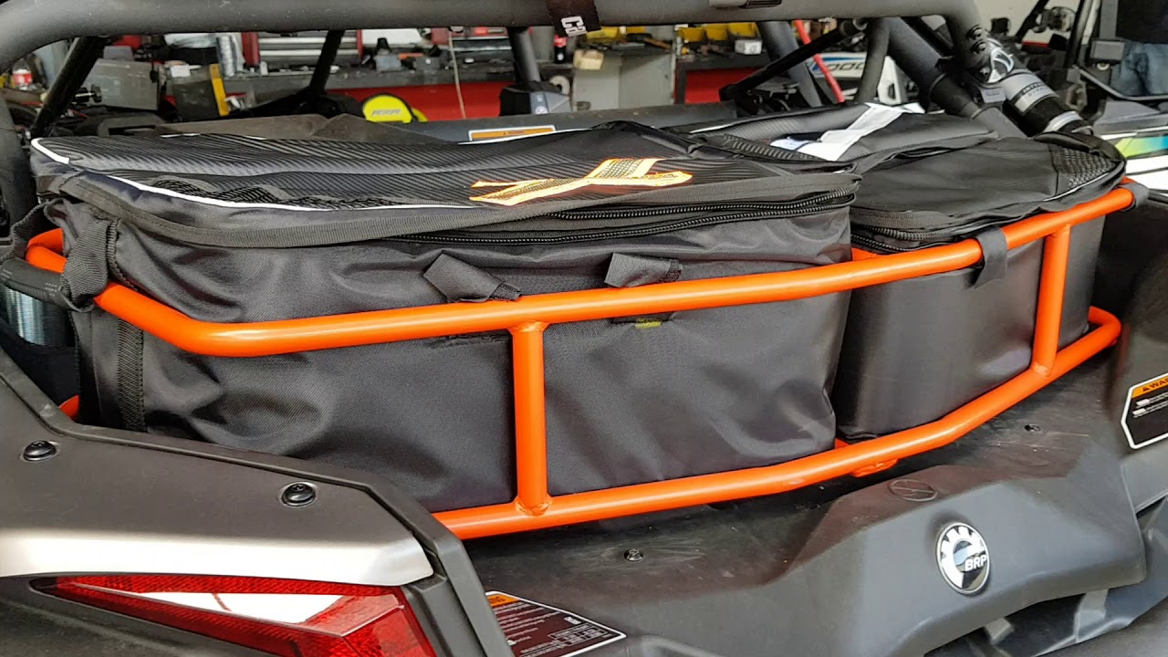 Rear Rack Cooler with Bags DMX Performance Can-Am X3
