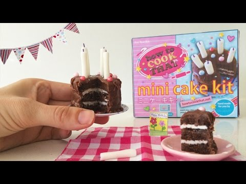 MAKE YOUR OWN POPIN COOKIN CAKE SET How To Cook That Kracie