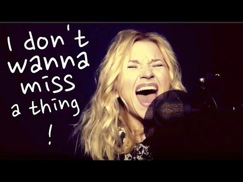 I Don't Wanna Miss a Thing by Aerosmith (Alyona cover)