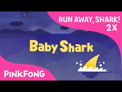 Run Away, Baby Shark ! | 2x FASTER | Animal Songs | PINKFONG Songs for Children