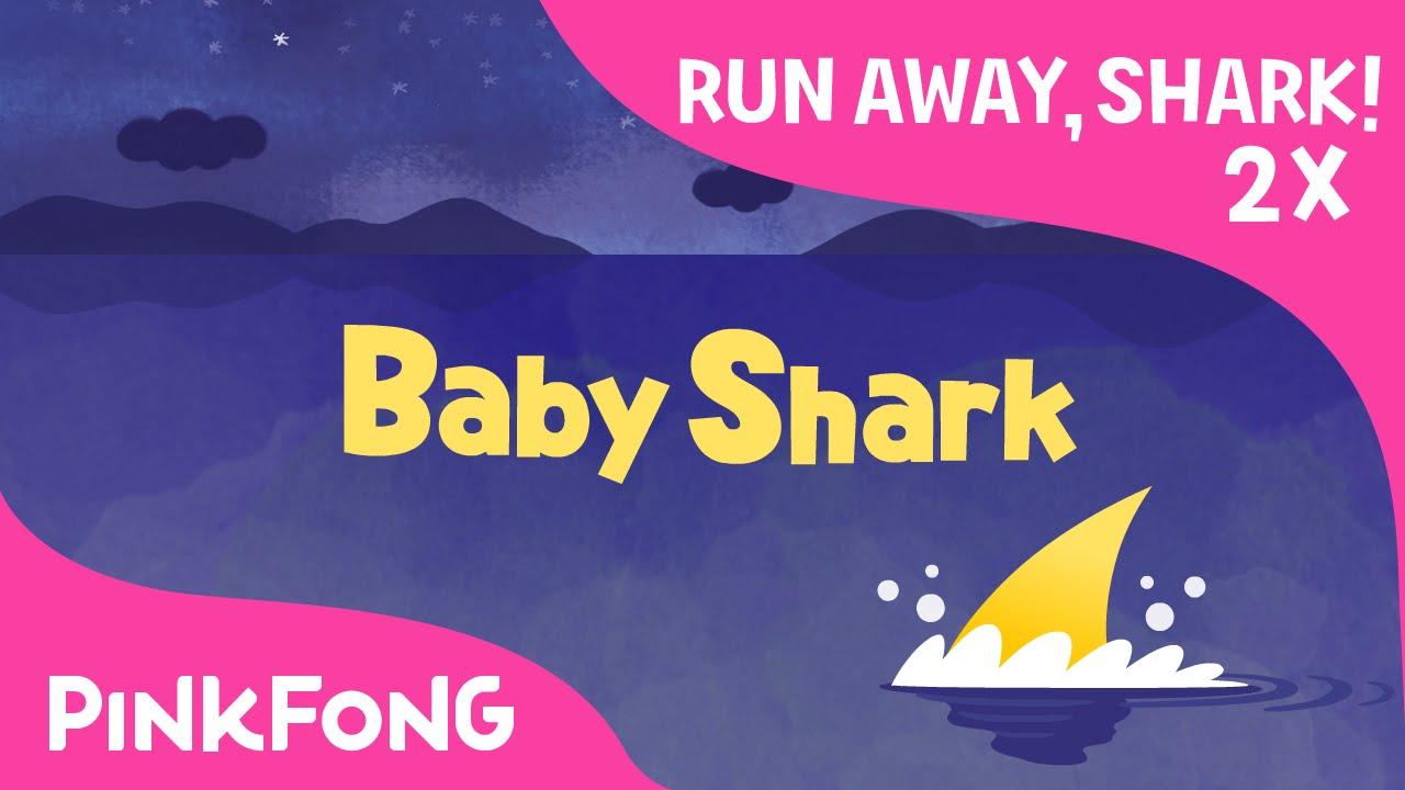 Run Away Baby Shark 2x Faster Animal Songs Pinkfong Songs