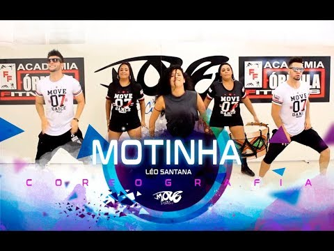 Motinha - Léo Santana - Move Dance Brasil - Coreografia