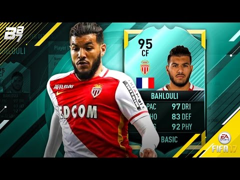 95 RATED BAHLOULI! | FIFA 17 ULTIMATE TEAM!