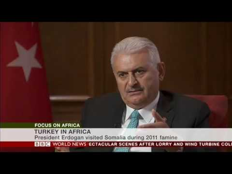My interview with the Turkish Prime Minister about Somalia and Africa