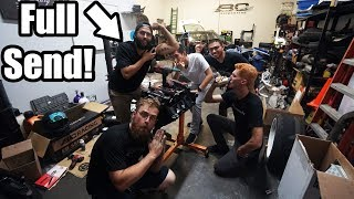 homepage tile video photo for Building Matt The Ginge's 6.0 LS For His Pro-AM Car! (Roast Alert)