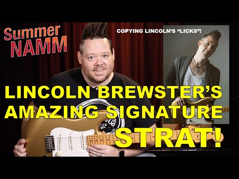 Fender's New Lincoln Brewster Signature Stratocaster | Full Review