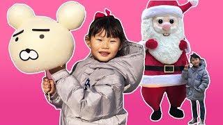 [라임뮤직비디오] 솜사탕 먹방편 | 크리스마스 캐롤 ❤︎ we wish you a merry christmas❤︎ kids song