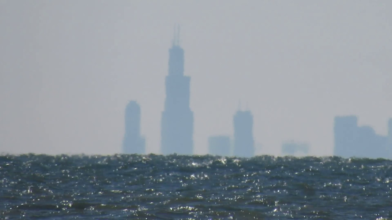 Canon Powershot SX530 Zoom Test Chicago Skyline From Indiana Dunes YouTube