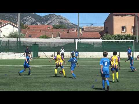 Football u11 osm sporting toulon victoire 5 à 2 le 20 05 2017