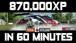 Forza Horizon 3 - 870,000XP in 1 Hour NEW FASTEST XP METHOD AFTER PATCH