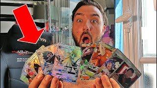 UNE CARTE ULTRA RARE PAR BOOSTER ! Ouverture de 10 Boosters Pokemon Destinées Occultes !