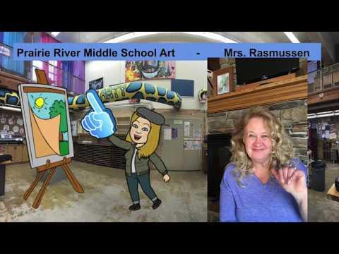 Prairie River Middle School ART ROOM WELCOME