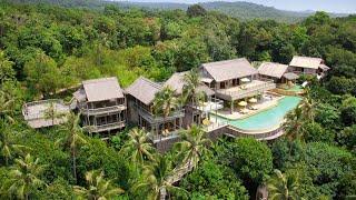 Largest holiday villa in Asia: PHENOMENAL 6 bedroom reserve at Soneva Kiri (Thailand)