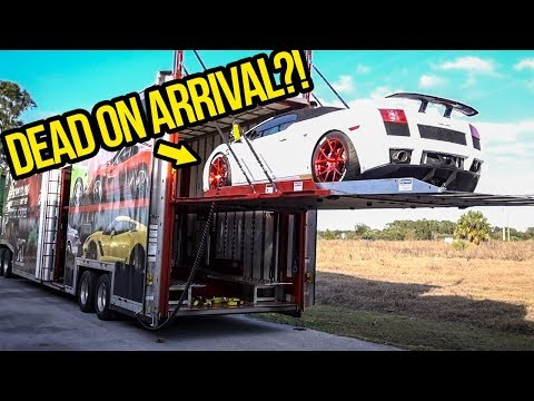 Taking Delivery Of The Cheapest Lamborghini In The Country