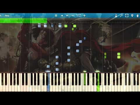 [Synthesia] EGOIST - KABANERI OF THE IRON FORTRESS (Opening) (Piano) [Koutetsujou no Kabaneri]