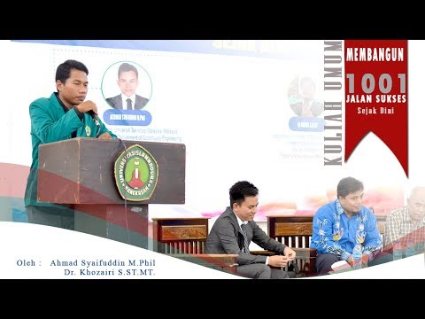 "Kuliah Umum "" Membangun 1001 jalan Sukses Sejak Dini "" Uim Pamekasan"